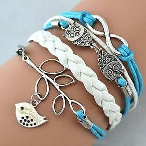 Jewelry - *2/$26* Multi Layer Leather Wrap Bracelet